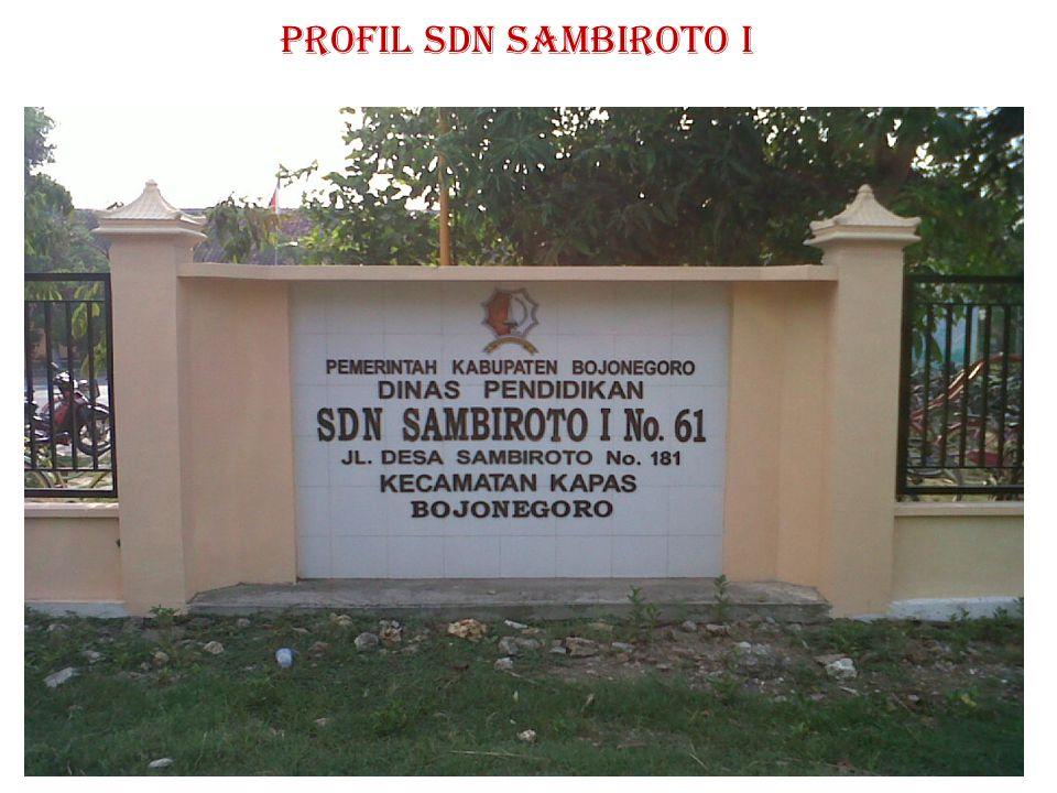 LINGKUNGAN SDN SAMBIROTO I