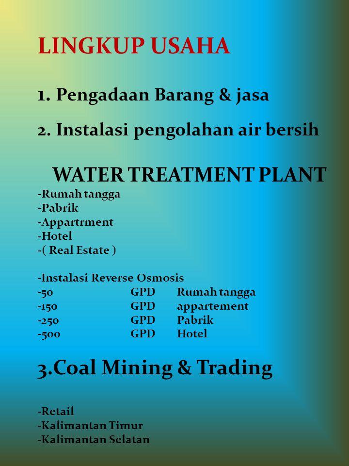 Menyediakan Jasa Pembangunan WATER TREATMENT PLANT ( WTP ) INSTALASI PEMIMPAAN ( PLUMBING ) - * Pemukiman Perumahan & Apartement - * Pabrik - * Perhot