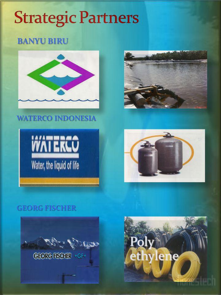 LINGKUP USAHA 1. Pengadaan Barang & jasa 2. Instalasi pengolahan air bersih WATER TREATMENT PLANT -Rumah tangga -Pabrik -Appartrment -Hotel -( Real Es