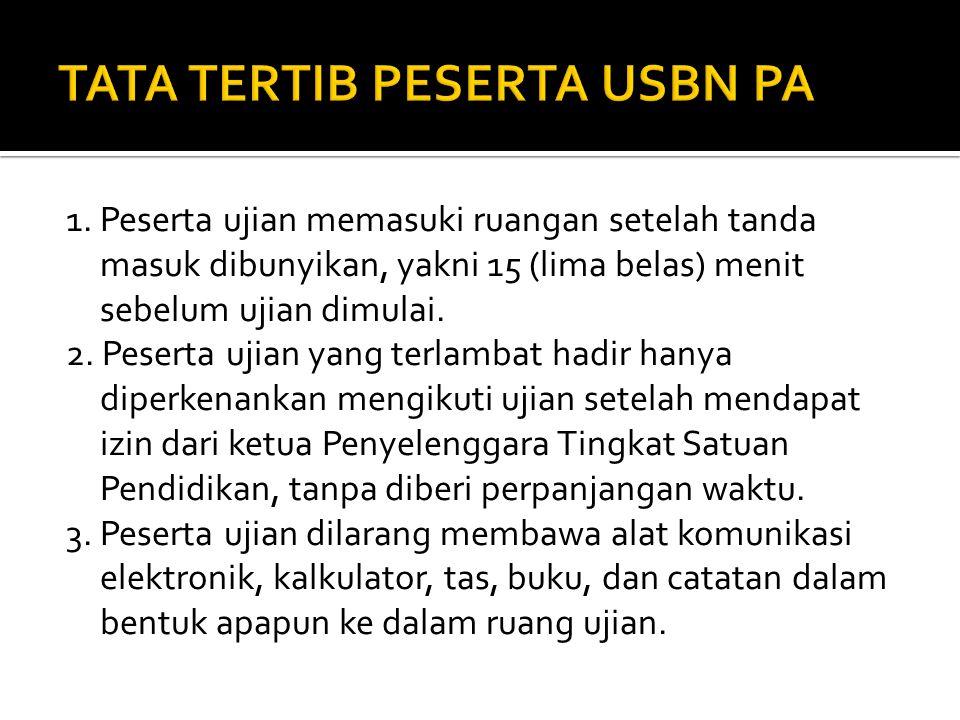  Sama seperti pengawasan dalam Ujian Sekolah untuk jenjang SD,SMP dan SMA/SMK. Created by Subkhi