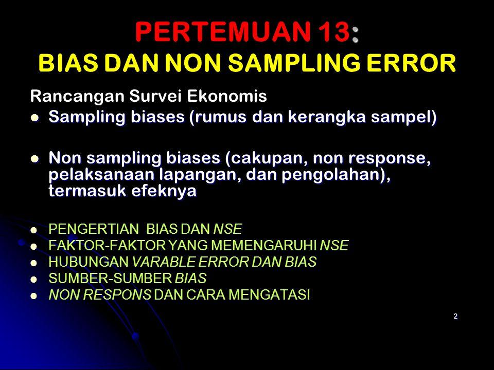 33 Klasifikasi dari Sumber Error