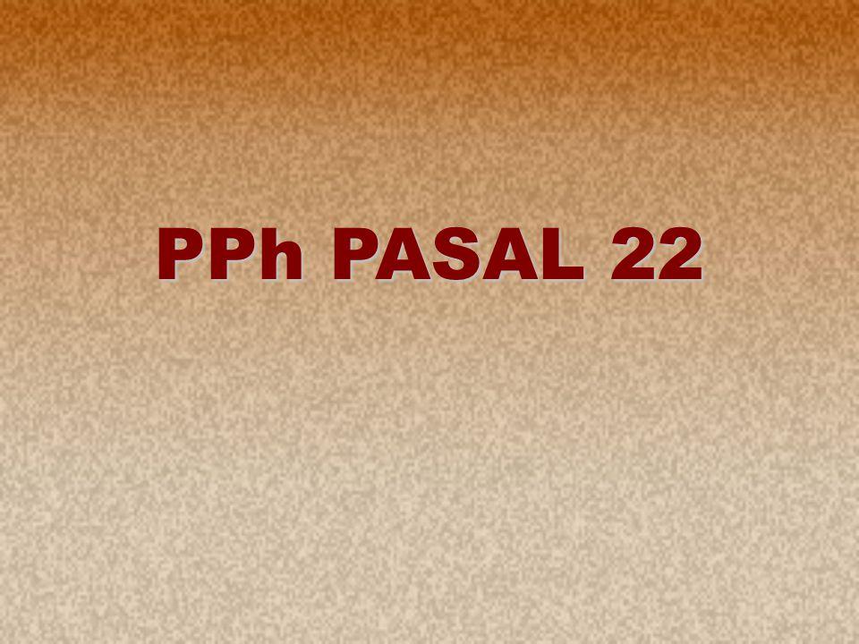 1 PPh PASAL 22