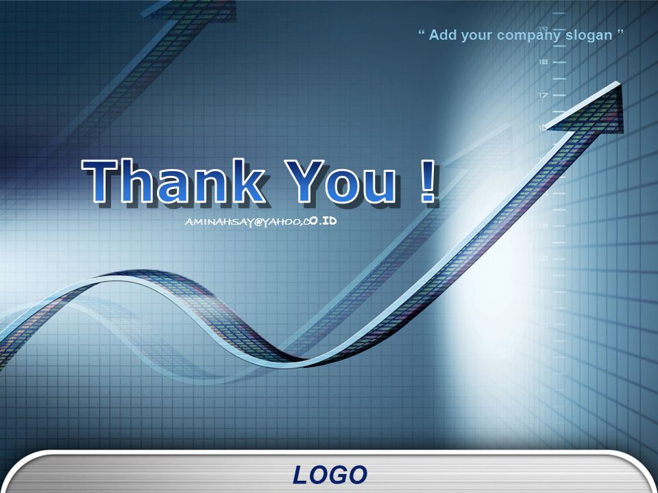 "LOGO "" Add your company slogan "" AMINAHSAY@YAHOO,C O.ID"