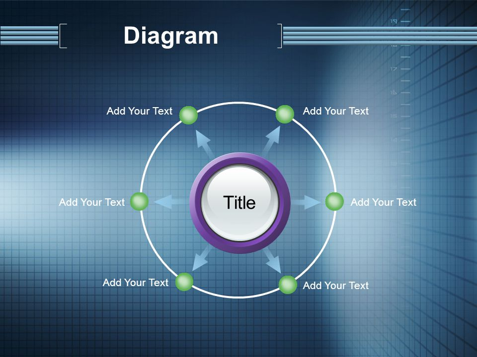 Diagram Title Add Your Text
