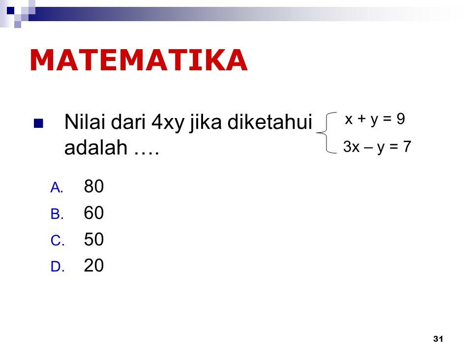 30 2/3 + 1/5 =.… A. 3/8 B. 13/15 C. 5/4 D. 13/8 Matematika