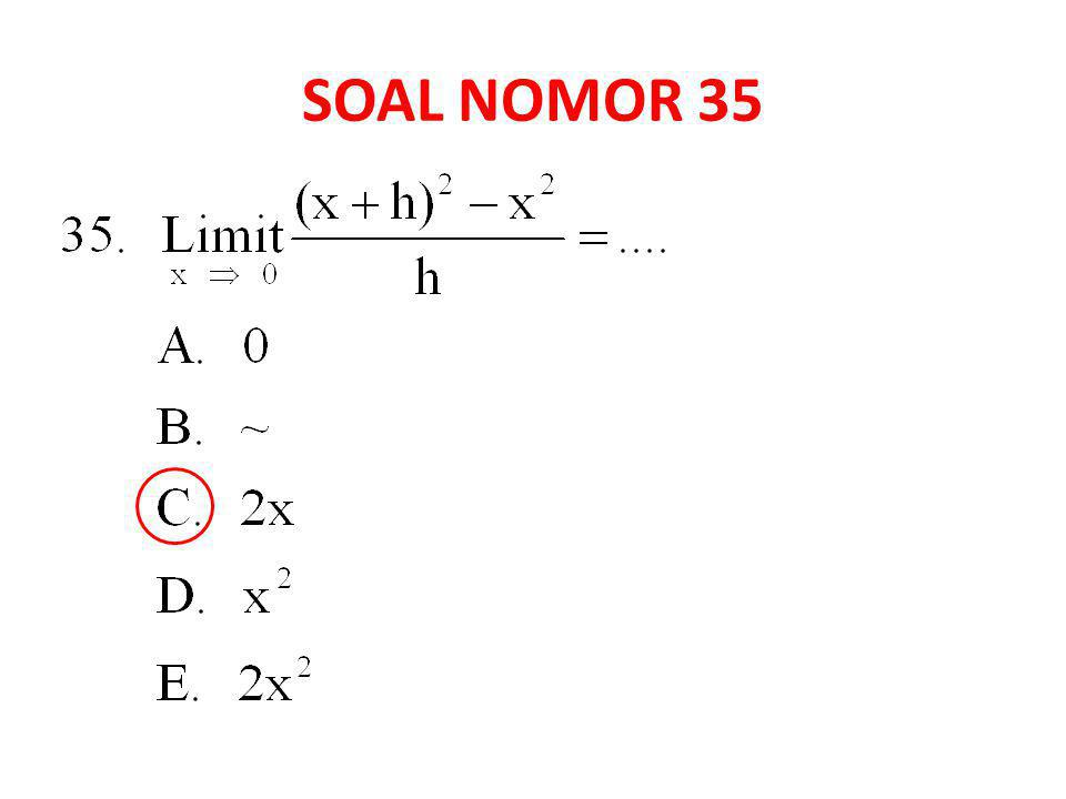 SOAL NOMOR 35