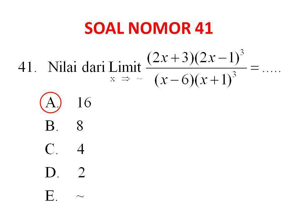 SOAL NOMOR 41
