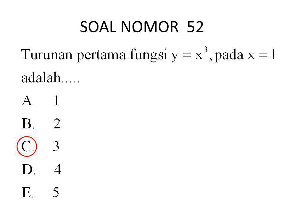 SOAL NOMOR 52