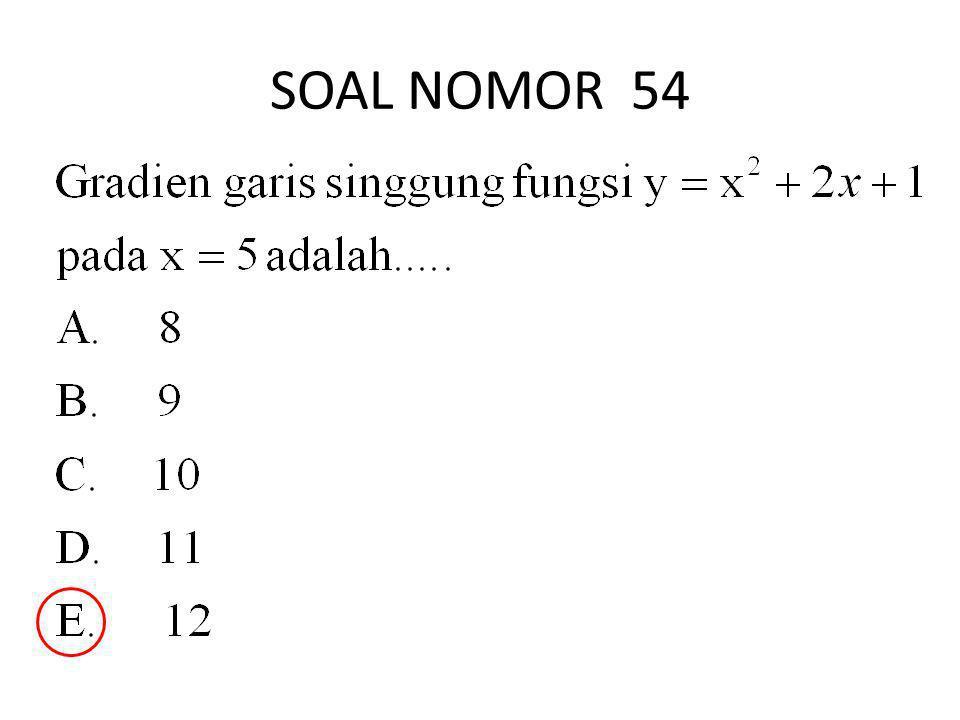 SOAL NOMOR 54