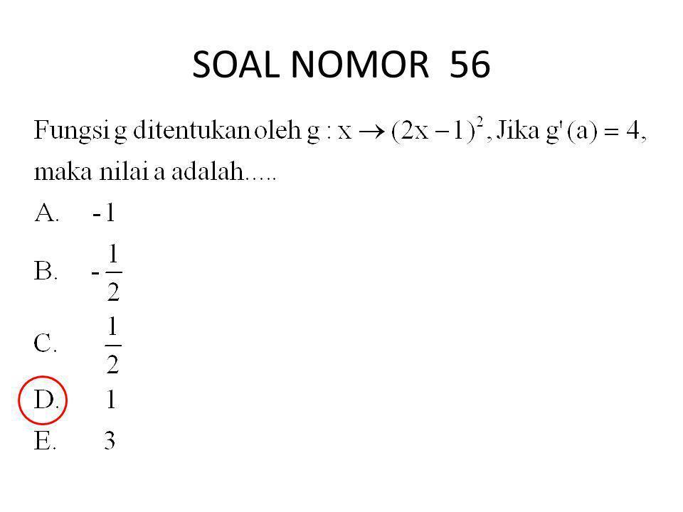 SOAL NOMOR 56