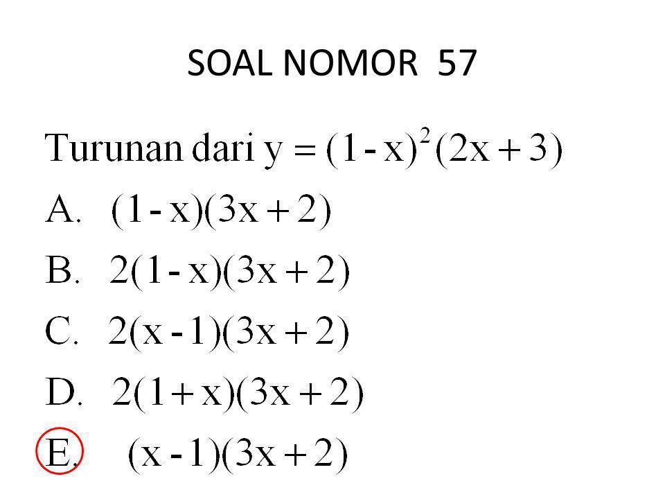 SOAL NOMOR 57
