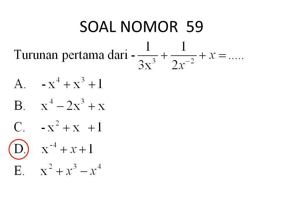 SOAL NOMOR 59