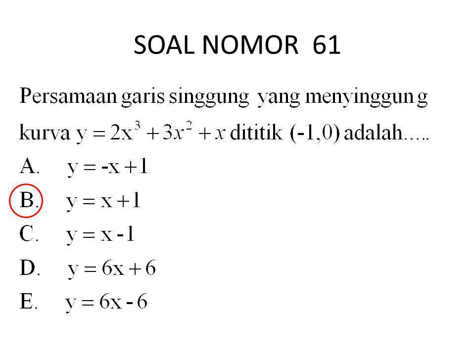 SOAL NOMOR 61