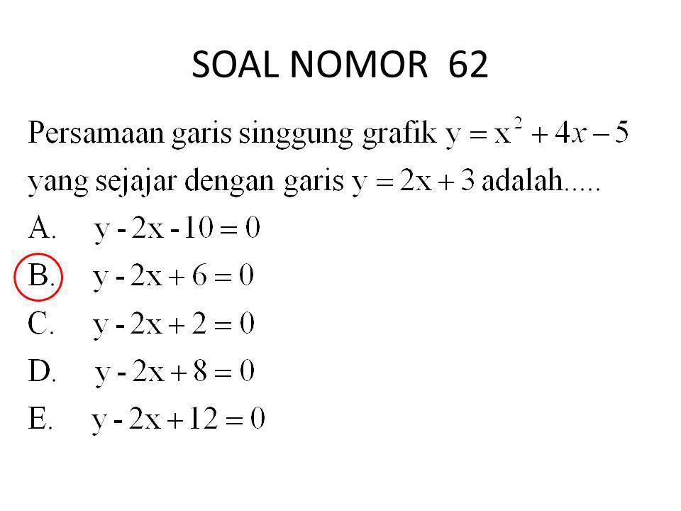 SOAL NOMOR 62