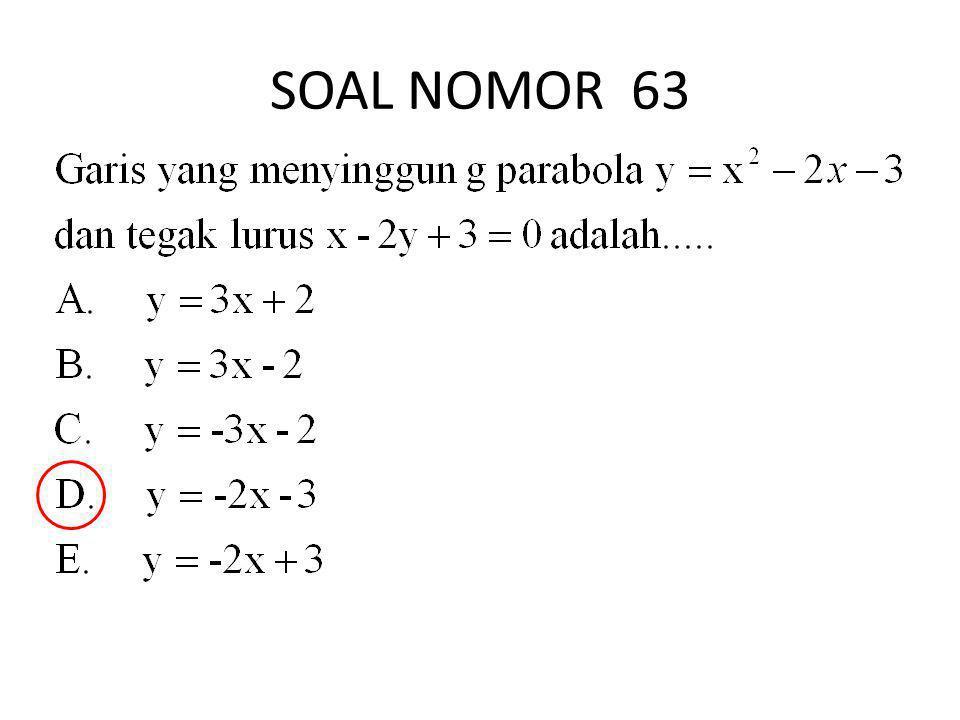 SOAL NOMOR 63