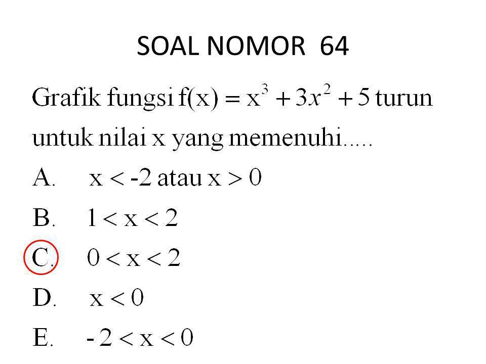 SOAL NOMOR 64