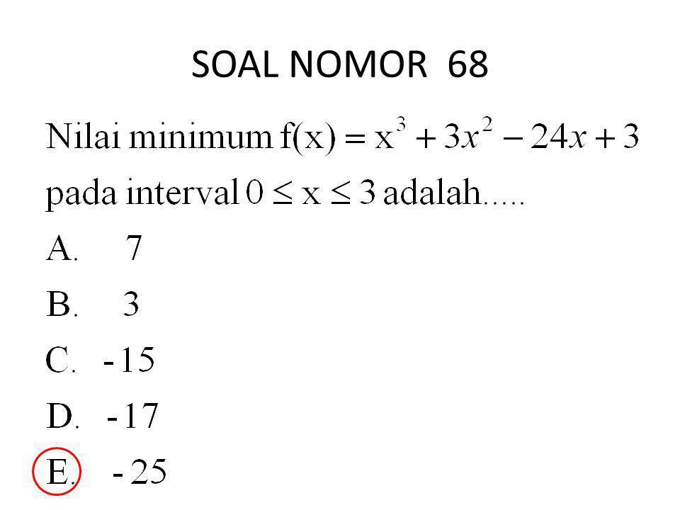SOAL NOMOR 68