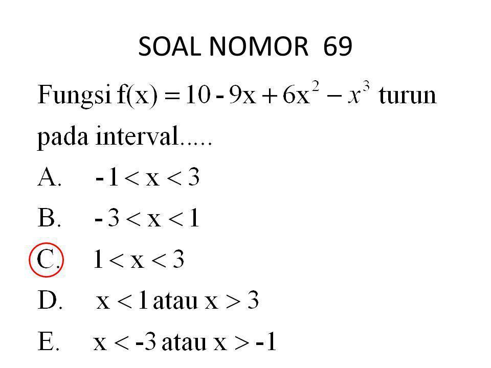 SOAL NOMOR 69