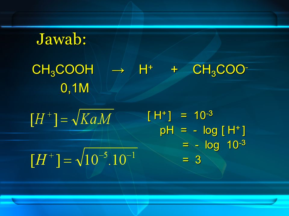 1.Asam Kuat dengan Basa Lemah B. Hidrolisis 2. Asam Lemah dengan Basa Kuat 3.