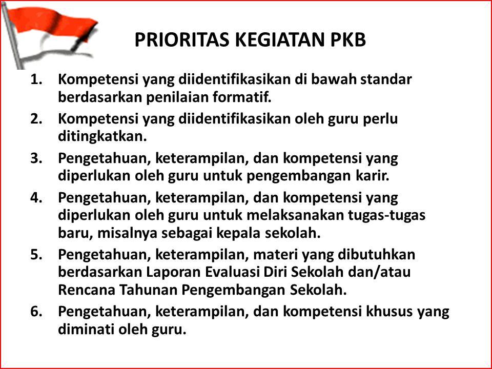 1.Kompetensi yang diidentifikasikan di bawah standar berdasarkan penilaian formatif. 2.Kompetensi yang diidentifikasikan oleh guru perlu ditingkatkan.
