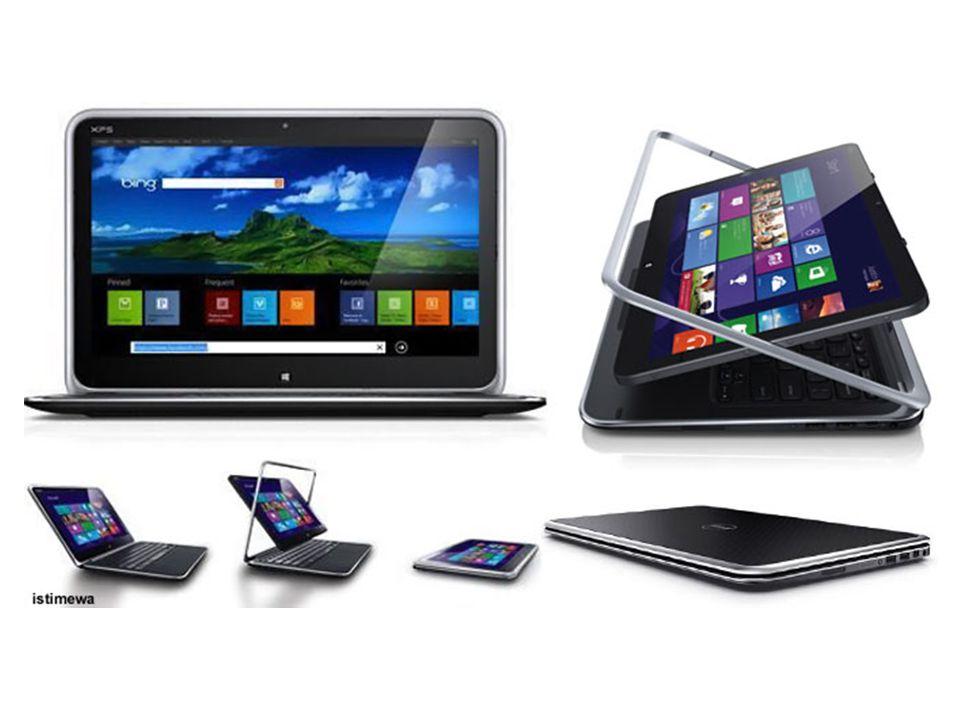 Pada prinsipnya, perangkat ini menggabungkan kesederhanaan fungsi tablet dengan kekuatan komputasi di perangkat notebook.