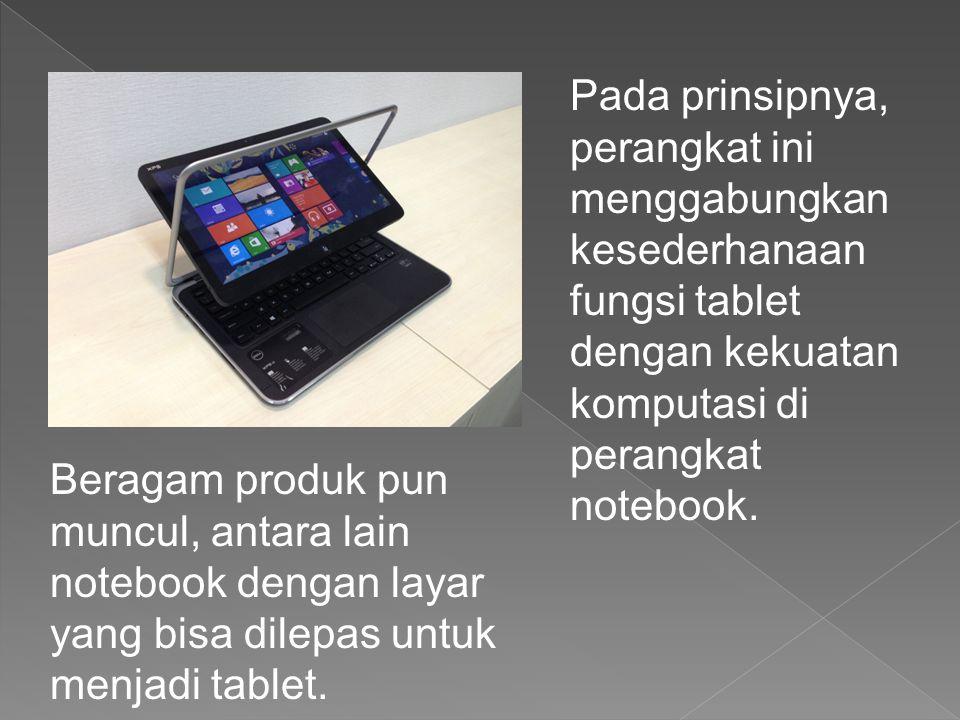 Dell XPS 12 tampil beda dengan perangkat hybrid PC lain.