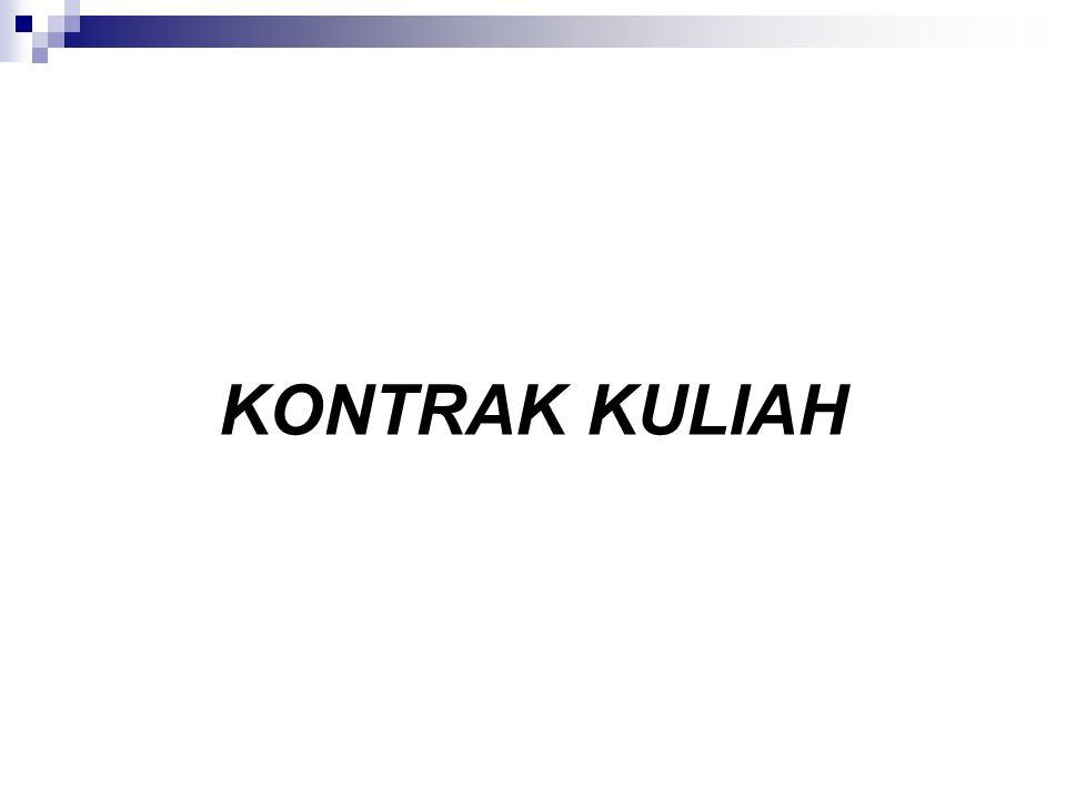 KONTRAK KULIAH