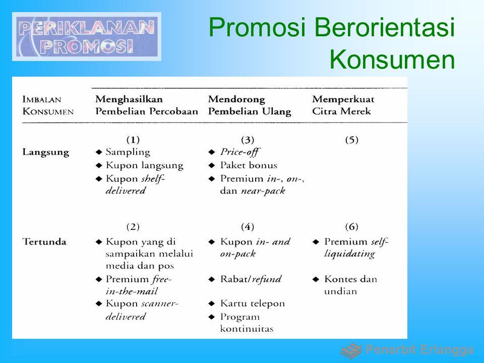 Promosi Berorientasi Konsumen Penerbit Erlangga