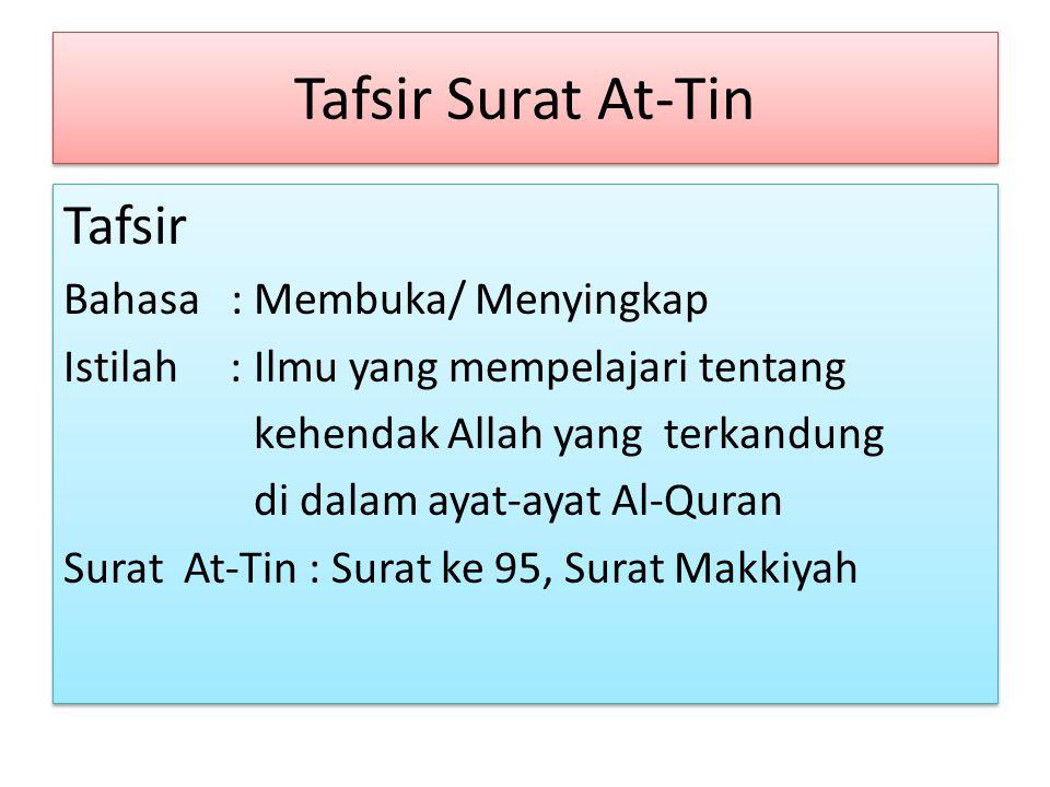 Surat dan Ayat A-Qur'an Dari Tempat Turunnya Al-Qur'an dibagi dua : 1.