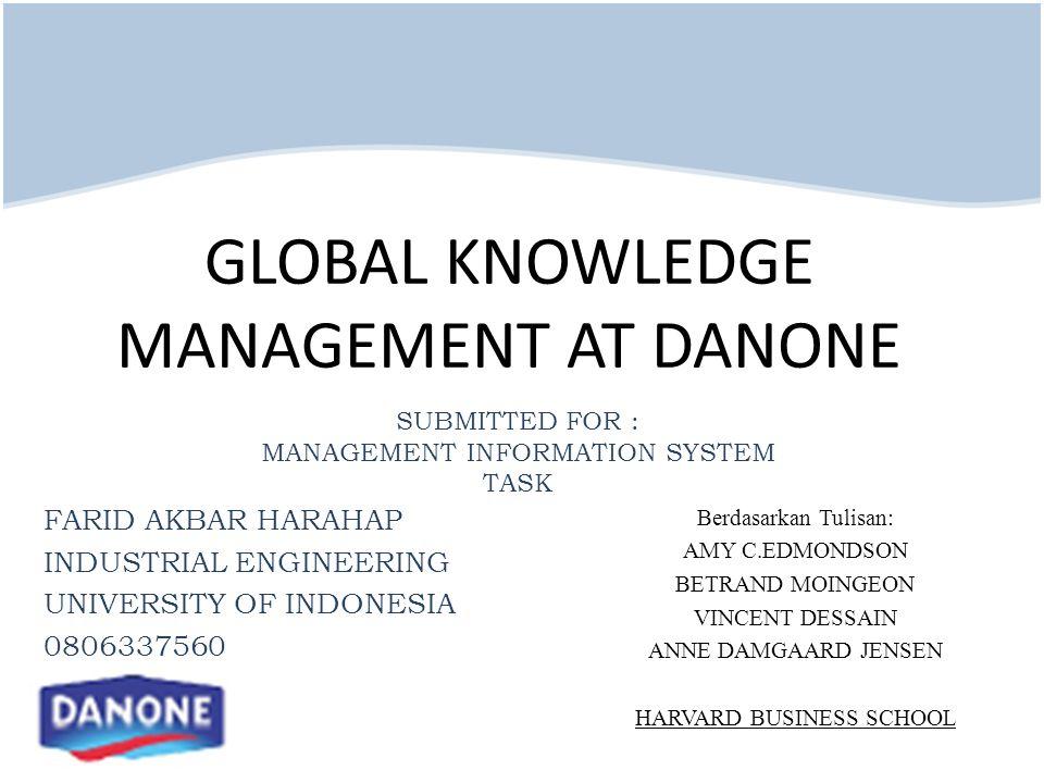 Farid Akbar Harahap Industrial Engineering Departement University of Indonesia 0806337560 e-mail : farid_tiui@yahoo.com