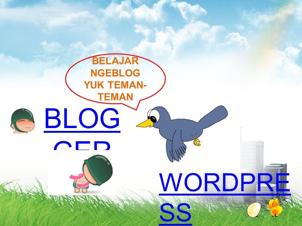 Cara Log In ke Wordpress BACK
