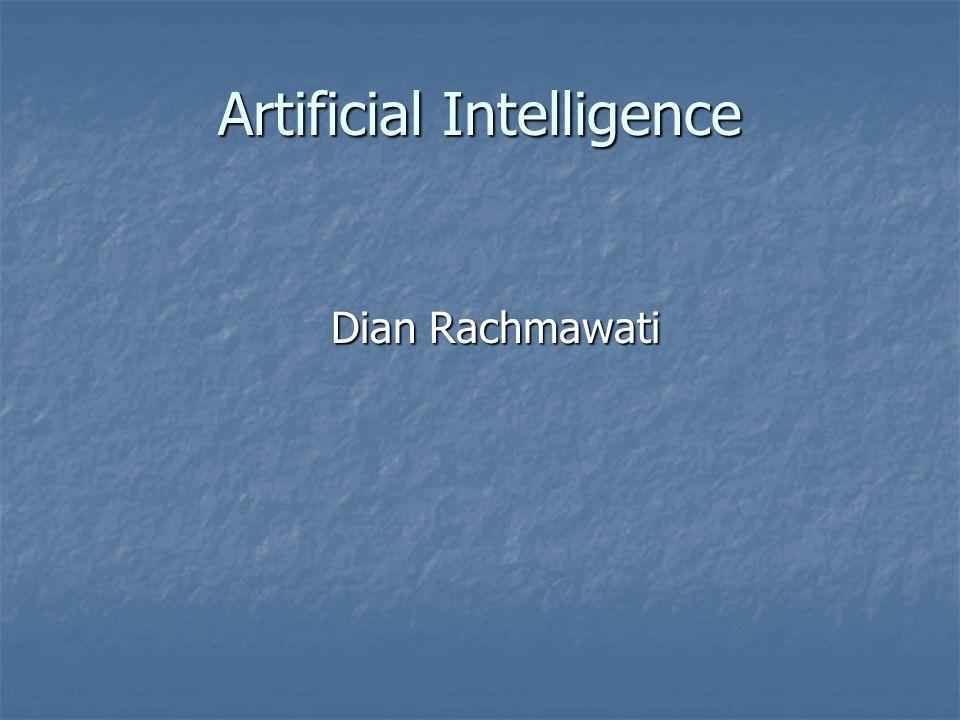 Artificial Intelligence Dian Rachmawati