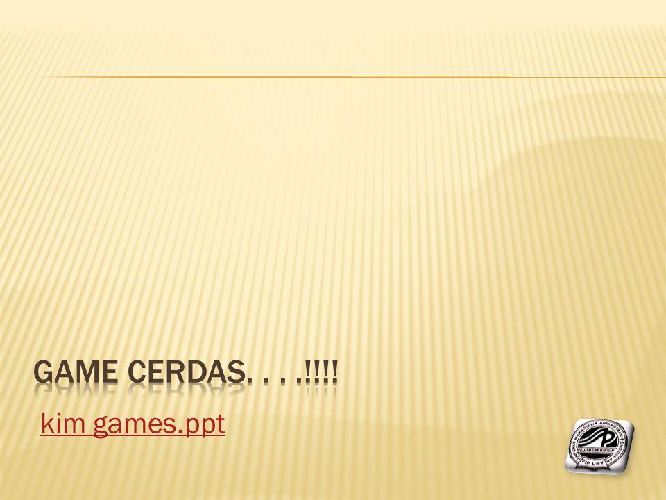 kim games.ppt