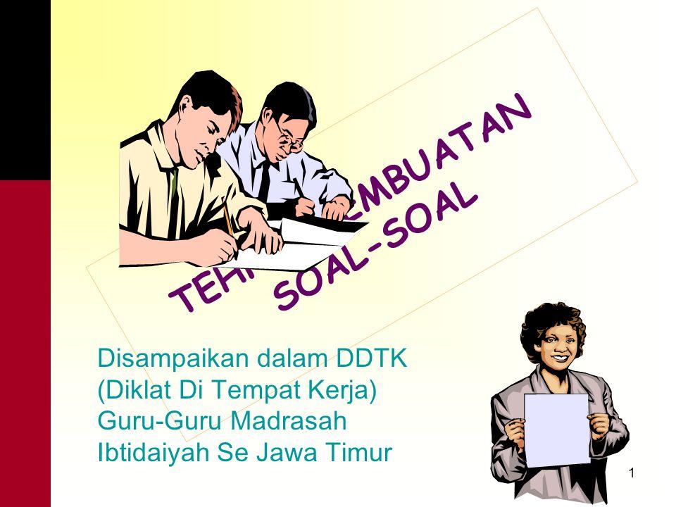 21 Contoh soal kurang baik: Walaupun kamu anak yatim/piatu, anak cacat, anak miskin, hidup di daerah kumuh, atau hidup di desa terpencil; namun kamu adalah warga negara Indonesia.