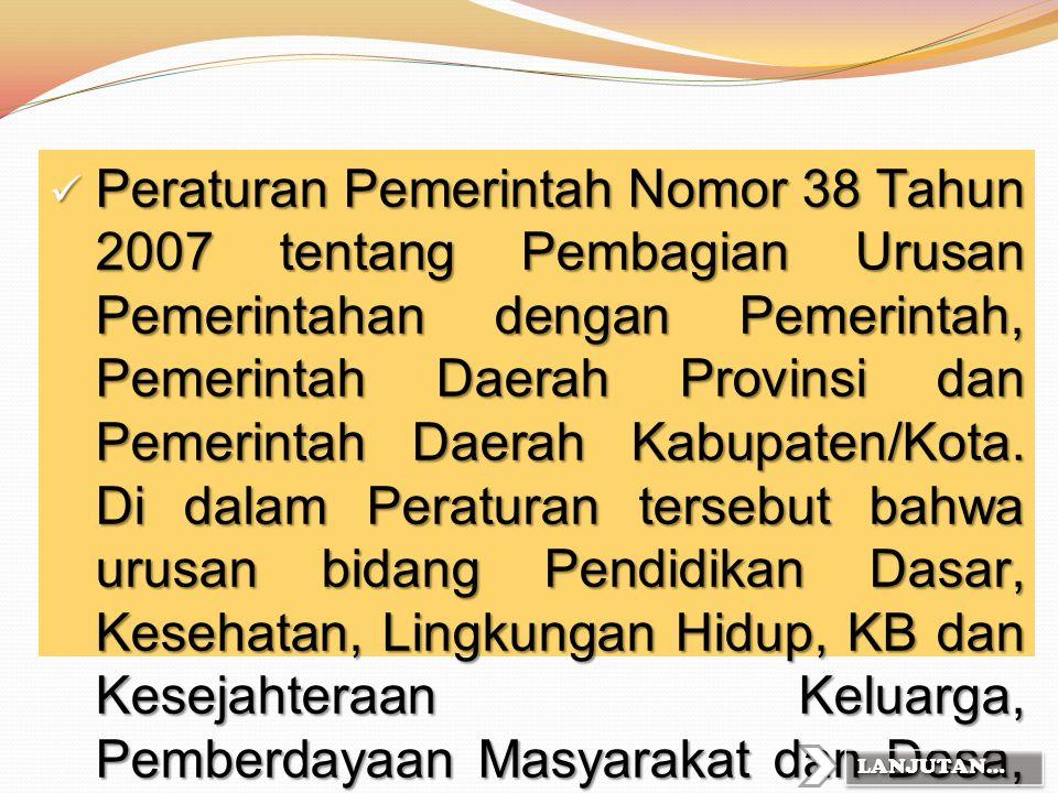 Pada tahun 1997 – 2000 secara Nasional Program Penyediaan Makanan Tambahan Anak Sekolah (PMT-AS) pada seluruh Wilayah Indonesia melalui Dana APBN. PMT