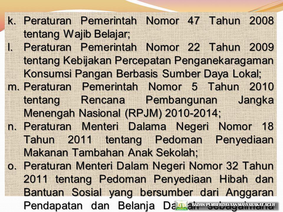 a.Undang-Undang Nomor 23 Tahun 2002 tentang Perlindungan Anak; b.Undang-Undang Nomor 20 Tahun 2003 tentang Sistem Pendidikan Nasional; c.Undang-Undang