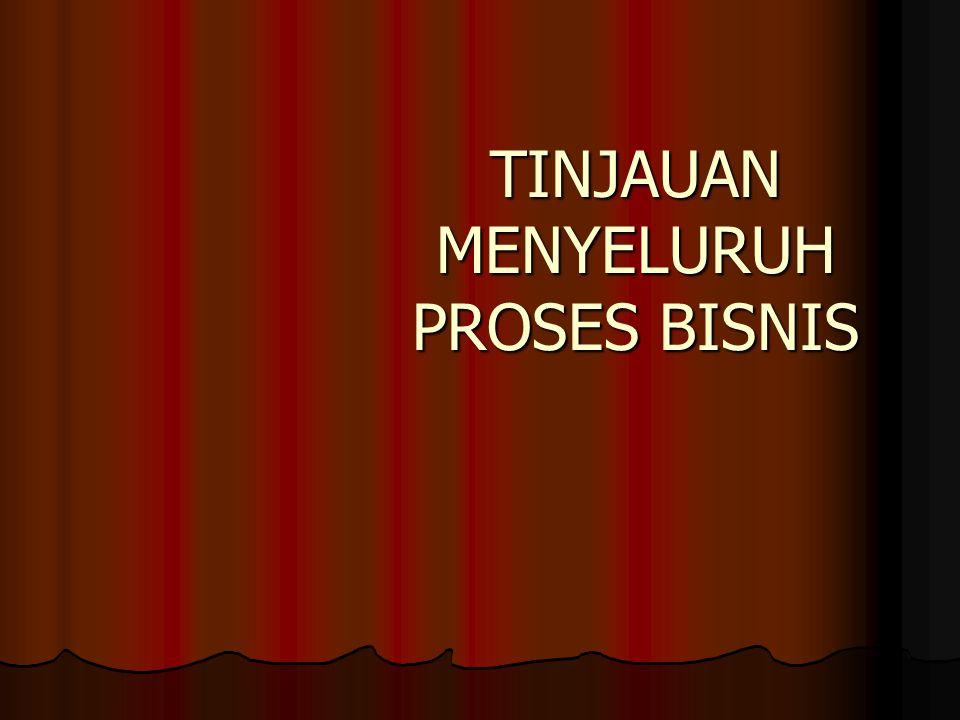 TINJAUAN MENYELURUH PROSES BISNIS
