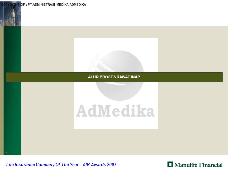 12 Life Insurance Company Of The Year – AIR Awards 2007 Question and Answers