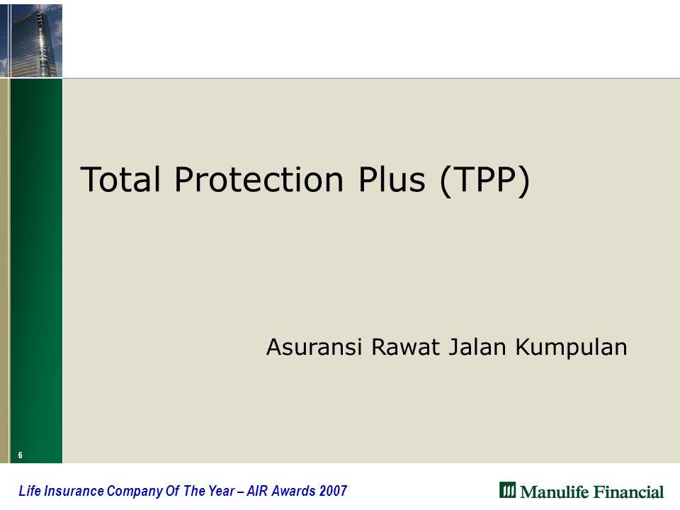 6 Total Protection Plus (TPP)  Asuransi Rawat Jalan Kumpulan