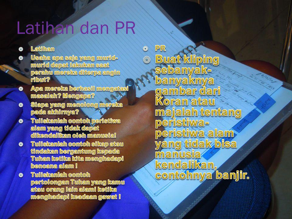 Latihan dan PR