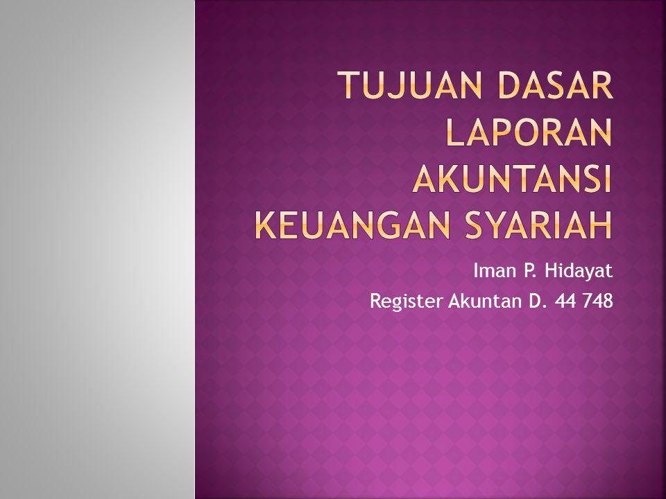 Iman P. Hidayat Register Akuntan D. 44 748