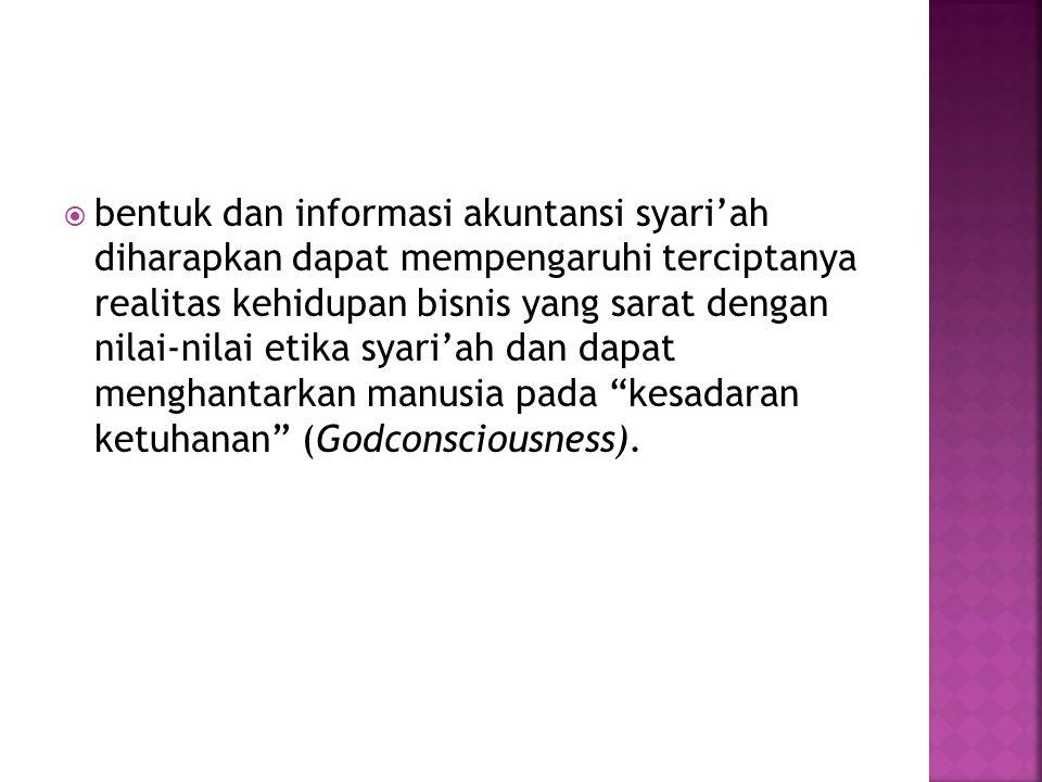 adalah untuk memberikan: (1) akuntabilitas dan (2) informasi.