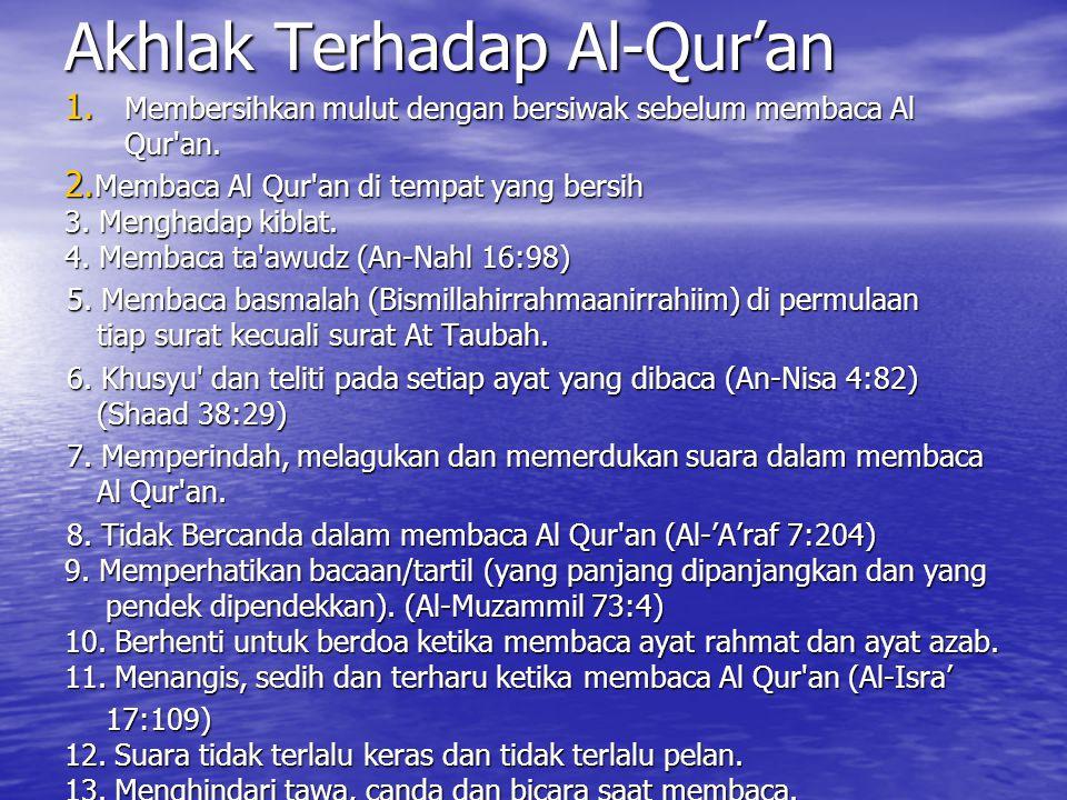 Sej. Pertumbuhan Ulumul Qur'an 1. Pada masa Nabi Muhammad hidup dan masa sahabat ilmu al-Qur'an sudah ada tetapi masih oral. 2. Kodifikasi ulumul qur'