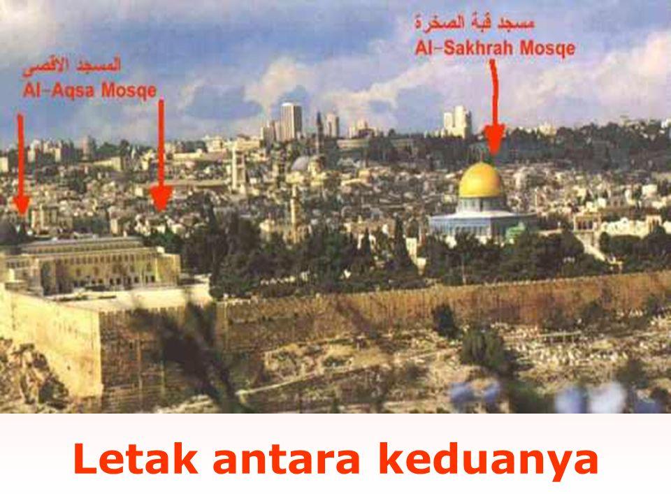 Umat Muslim harus tahu dan menyadari kesalahan ini. Dan membuat penjelasan sebenarnya kepada anak maupun masyarakat umum tentang Masjid al-Aqsa. See t