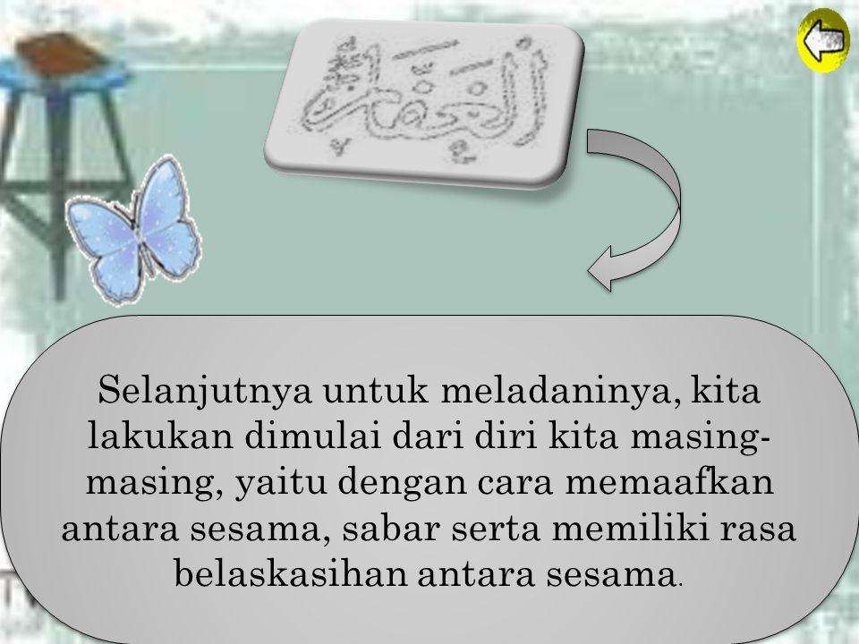 Al-Ghaffaru Maha Pengampun Sebagaimana telah dijelaskan dalam Al- qur'an QS. Shad : 66. Artinya : Tuhan langit dan bumi dan apa yang ada di antara ked