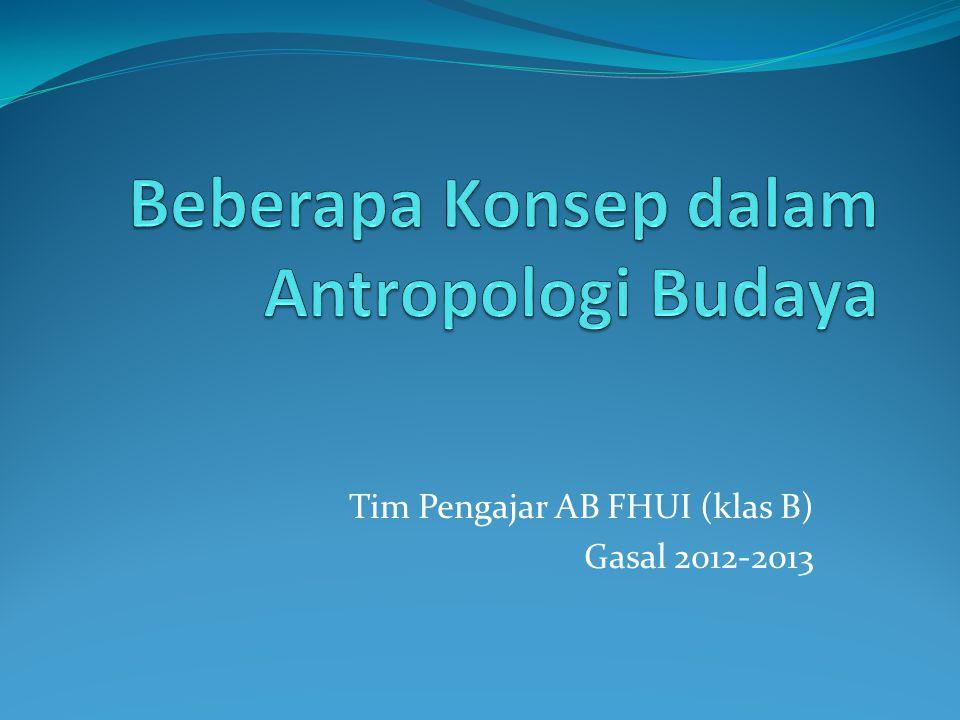 Tim Pengajar AB FHUI (klas B) Gasal 2012-2013
