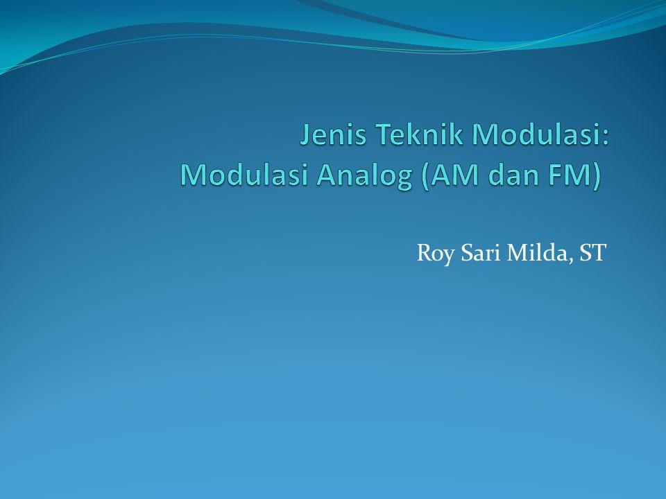 Roy Sari Milda, ST