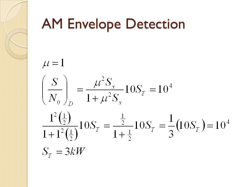 AM Envelope Detection