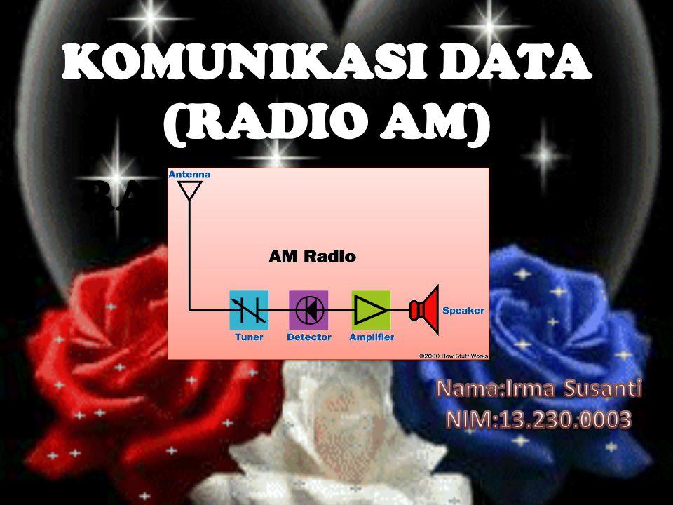 RADIO AM Nama:Irma Susanti