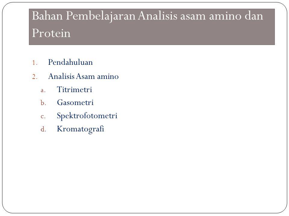 Asam amino AA merupakan monomer penyusun protein.